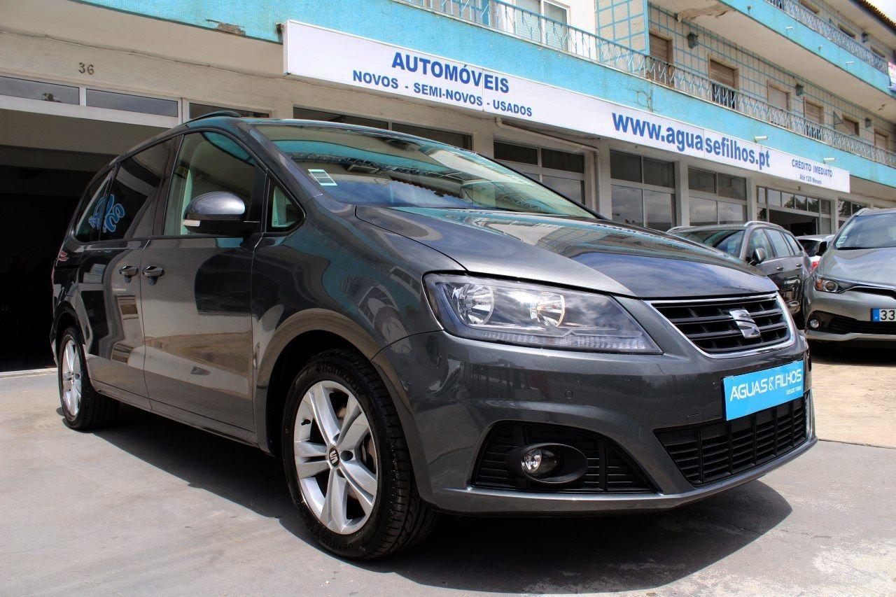 <b>Seat  Alhambra  </b>2.0 TDi Style DSG (GPS+Câmera)150cv (2017)