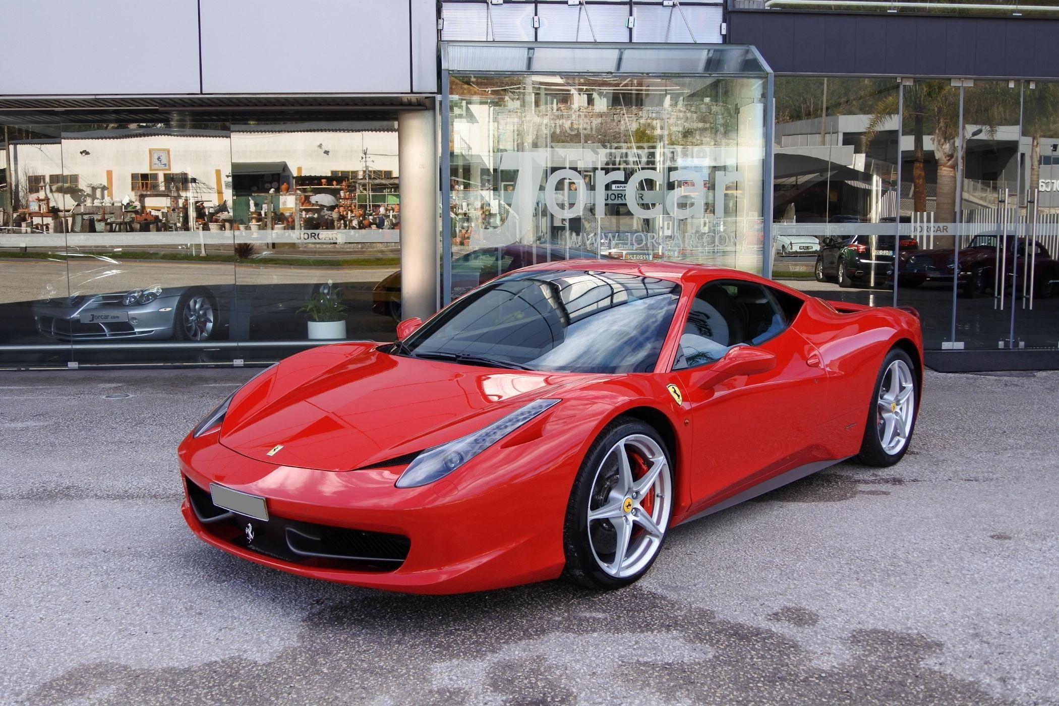 Ferrari 458 Italia 4 5 V8 Usado Para Venda Em Leiria Leiria