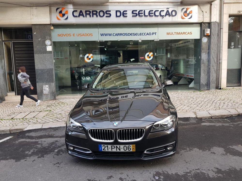 Carros de Selecção: BMW 535 d Exclusive Auto ( 2015 ) - 54.500 €