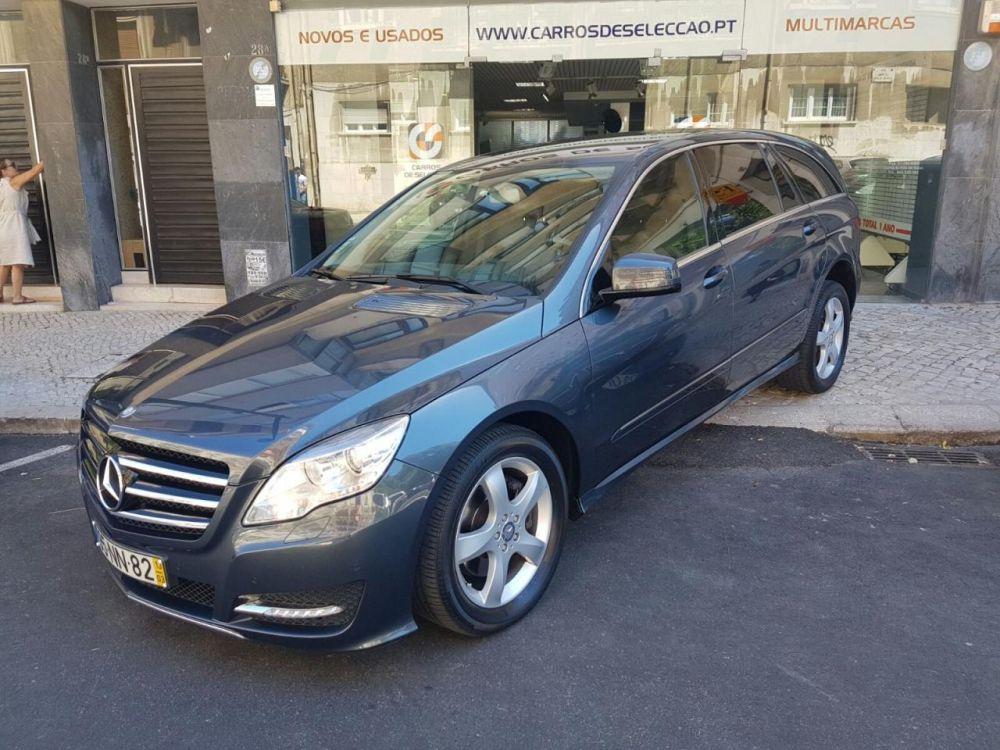 Carros de Selecção: Mercedes Benz R 350 CDi 4-Matic Longo ( 2013 ) - 53.900 €